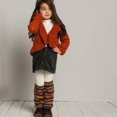 Ohje tytön jakku ja säärystimet
