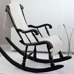 Ohje: Virkattu tuolinmatto