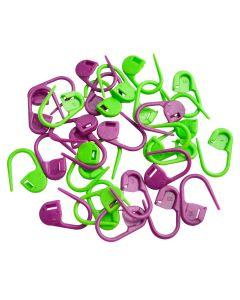 KnitPro låsbar stickmarkörer