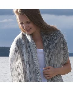Weaving pattern frost scarf