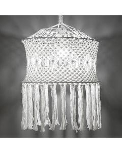 Free Pattern Macrame Lamp Shade
