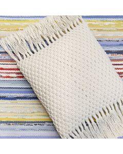 Pattern macrame pillow