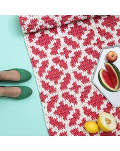 Molla Mills crochet Almada rug