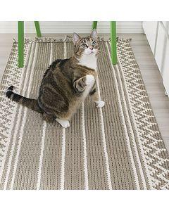 Ohje: Kirjovirkattu matto