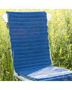 Ohje: Kudottu Aallokko-tuolimatto