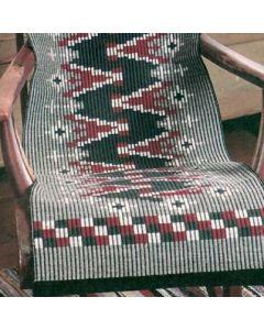 Ohje: Kudottu Aaltoviiva-keinutuolin matto
