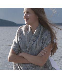 Gratis mönster: Vävd sjalen Rimfrost