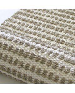 Ohje: Kudottu pellavainen Sipsu-matto