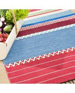 Ohje: Kudottu Tilkkuri-matto