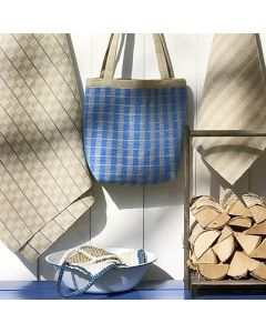 Ohje: Kudotut Saunaranta-tekstiilit