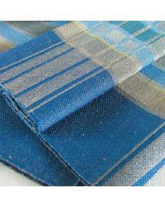 Ohje: Kudottu Sininen hetki -saunapyyhe ja -pöytäliina