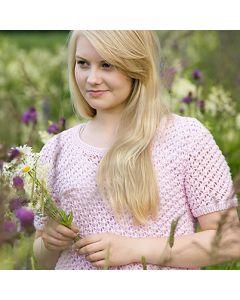 Ohje: Neulottu vaaleanpunainen pusero