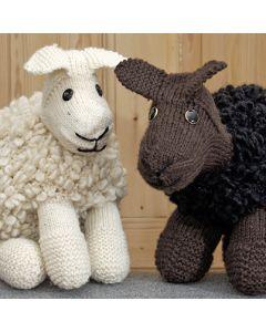 Ohje: Neulottu Väinö-lammas