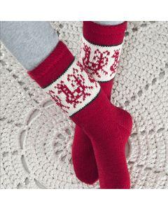 Ohje: Neulotut Kukkilintu-sukat