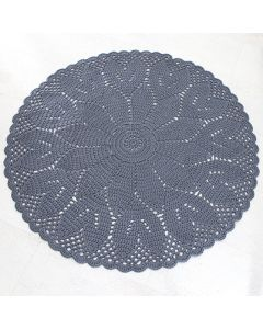 Virkkausohje: virkattu matto Tulppaani