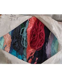 Cotton tricot in hanks, bale 29 / 368 kg