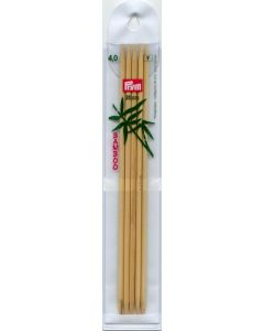 Prym bamboo double pointed knitting needles 20 cm