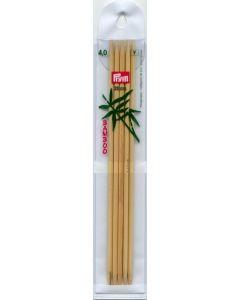 Prym strumpstickor i bambu, 20 cm