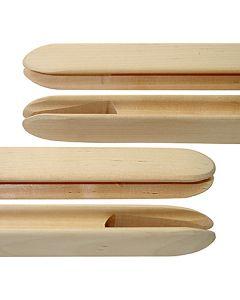 wooden shuttle