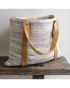 Molla Mills crochet rag tote bag