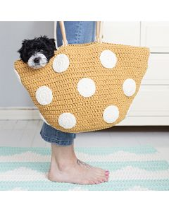 Pattern Molla Mills crochet tote bag