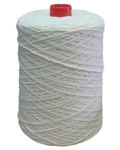 Chenille yarn, off-white