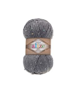 Alize superlana midi pullu yarn with sequins