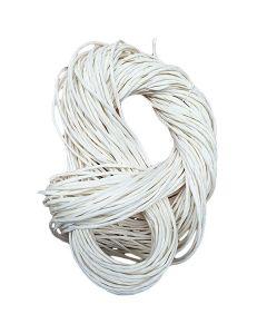 Tjockt vit pappersgarn, 300 g