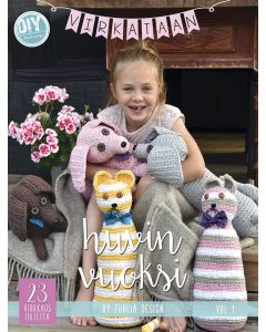 Virkataan huvin vuoksi – crochet pattern book (in Finnish)