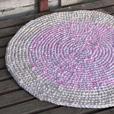 Free Pattern Crochet Rag Rug Lankava Yarn House