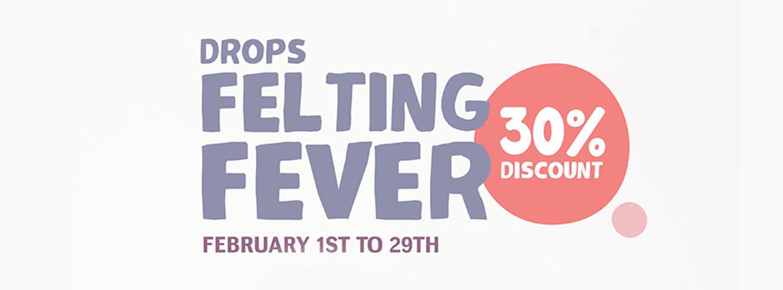 Drops Felting Fever -30 %