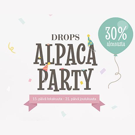 DROPS Alpakkajuhlat 15.10.–31.12.2021