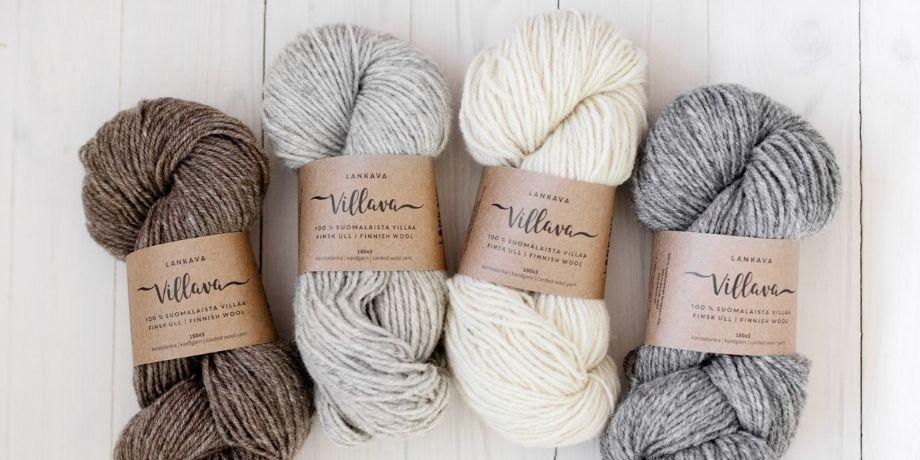 Villava – 100 % suomalaista villaa