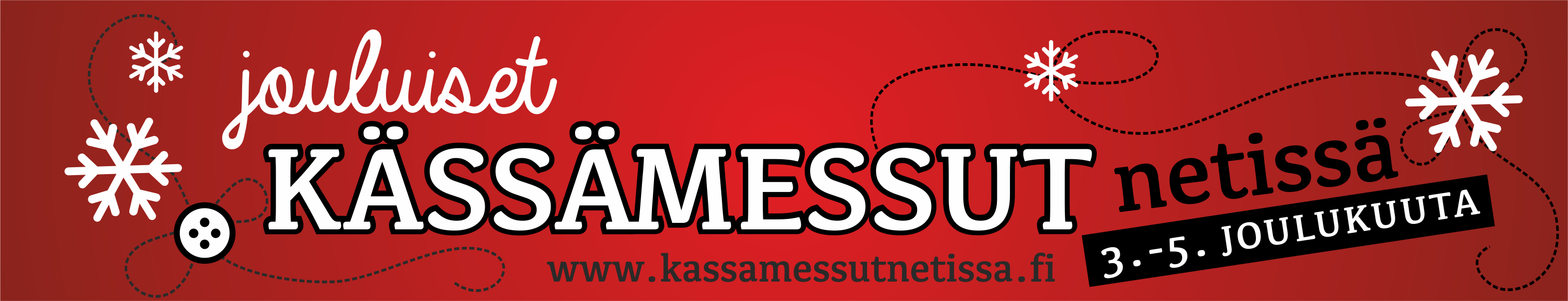 Jouluiset Kässämessut netissä 3.-5.12.2021
