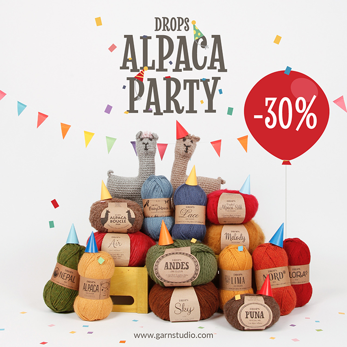 Drops Supersale Alpaca Party
