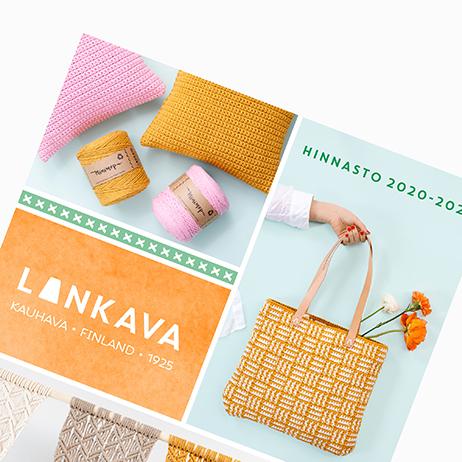 Tilaa Lankavan uusi tuotekuvasto!