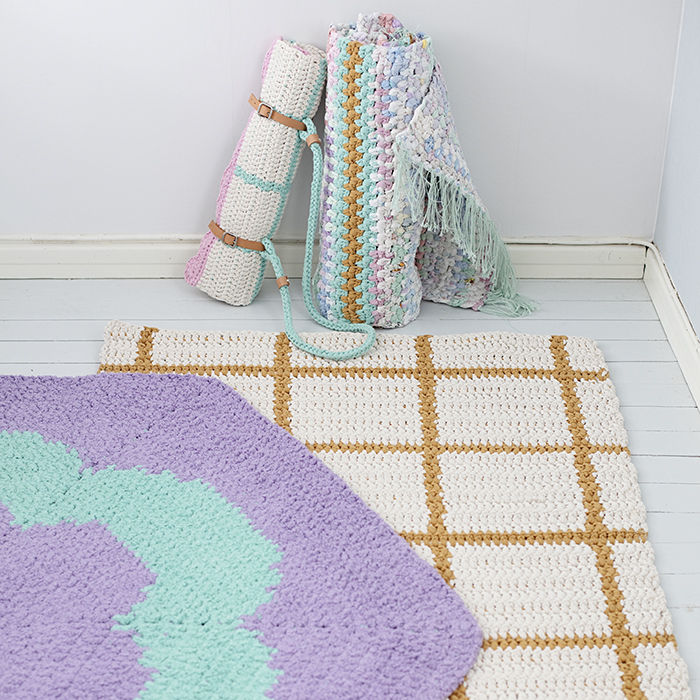 Virkade mattor